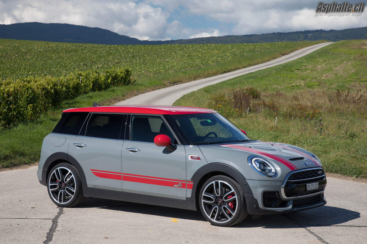 Essai MINI Clubman F54 JCW Moonwalk Grey
