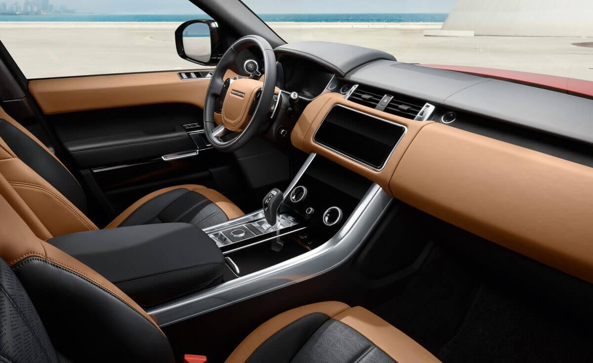 Range Rover Sport 2018 Facelift intérieur