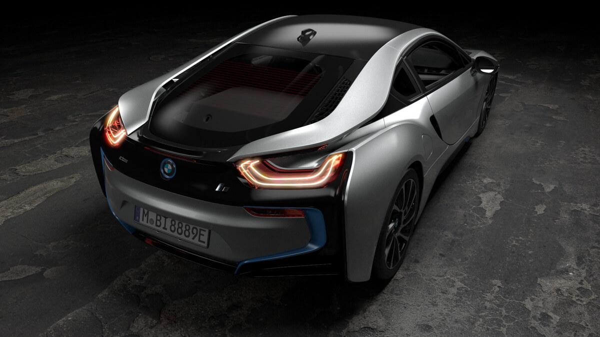 BMW i8 Coupé 2018