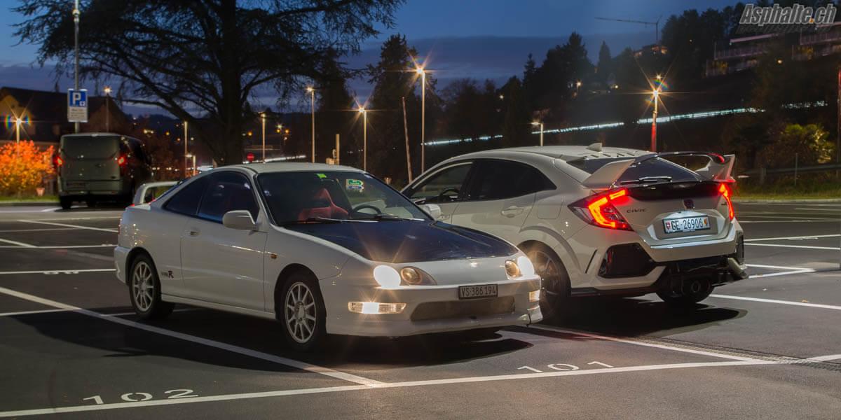 Essai Honda Civic Type R Integra Type R