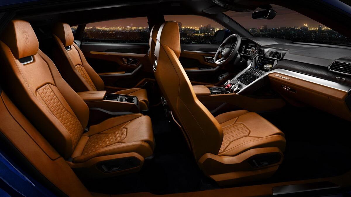 Lamborghini Urus intérieur
