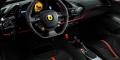 Ferrari 488 Pista intérieur tableau de bord