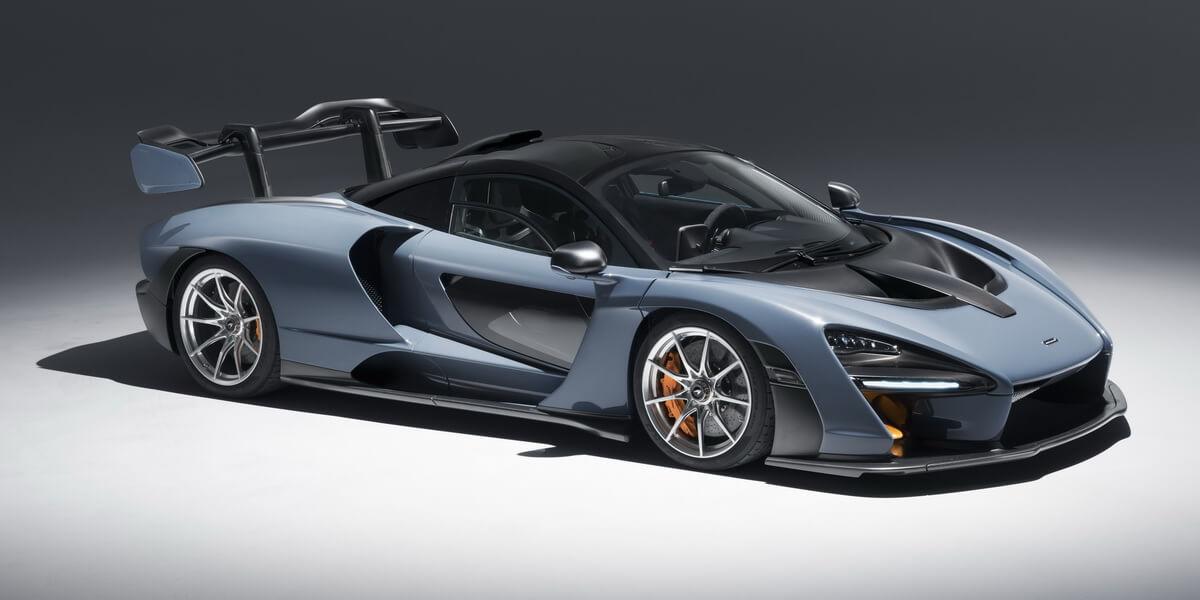 McLaren Senna Victory Grey