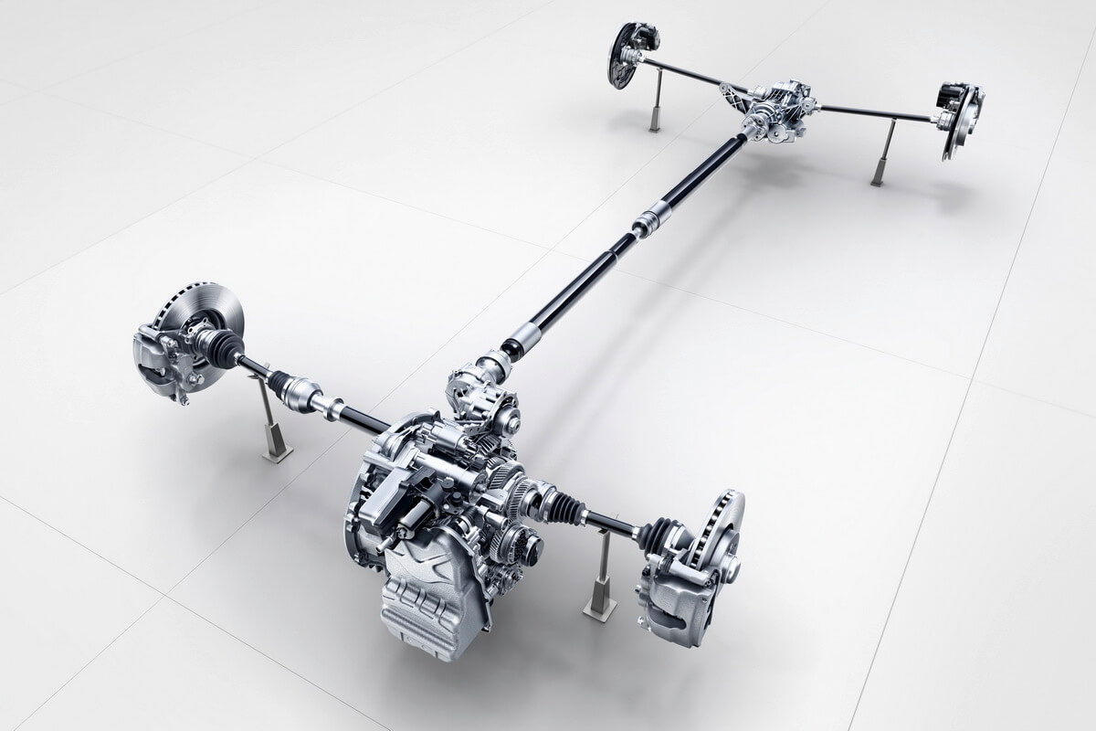 Mercedes Classe A W177 transmission 4Matic