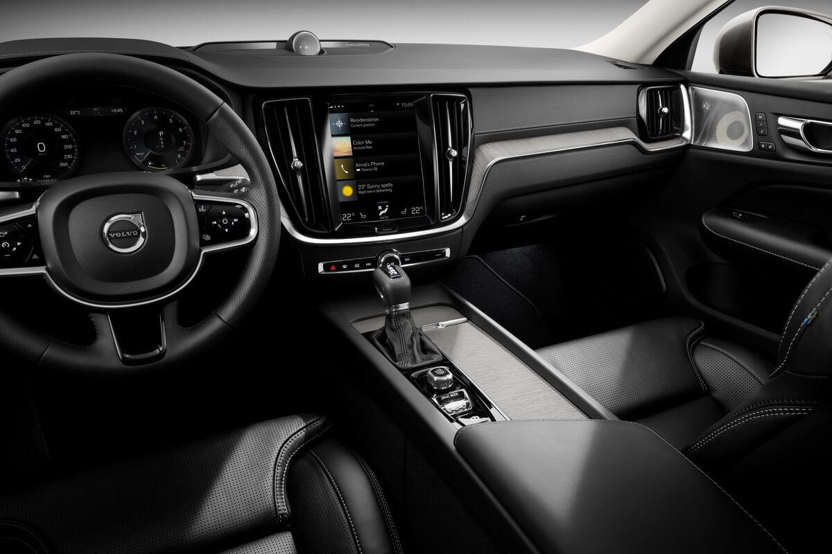 Volvo V60 intérieur