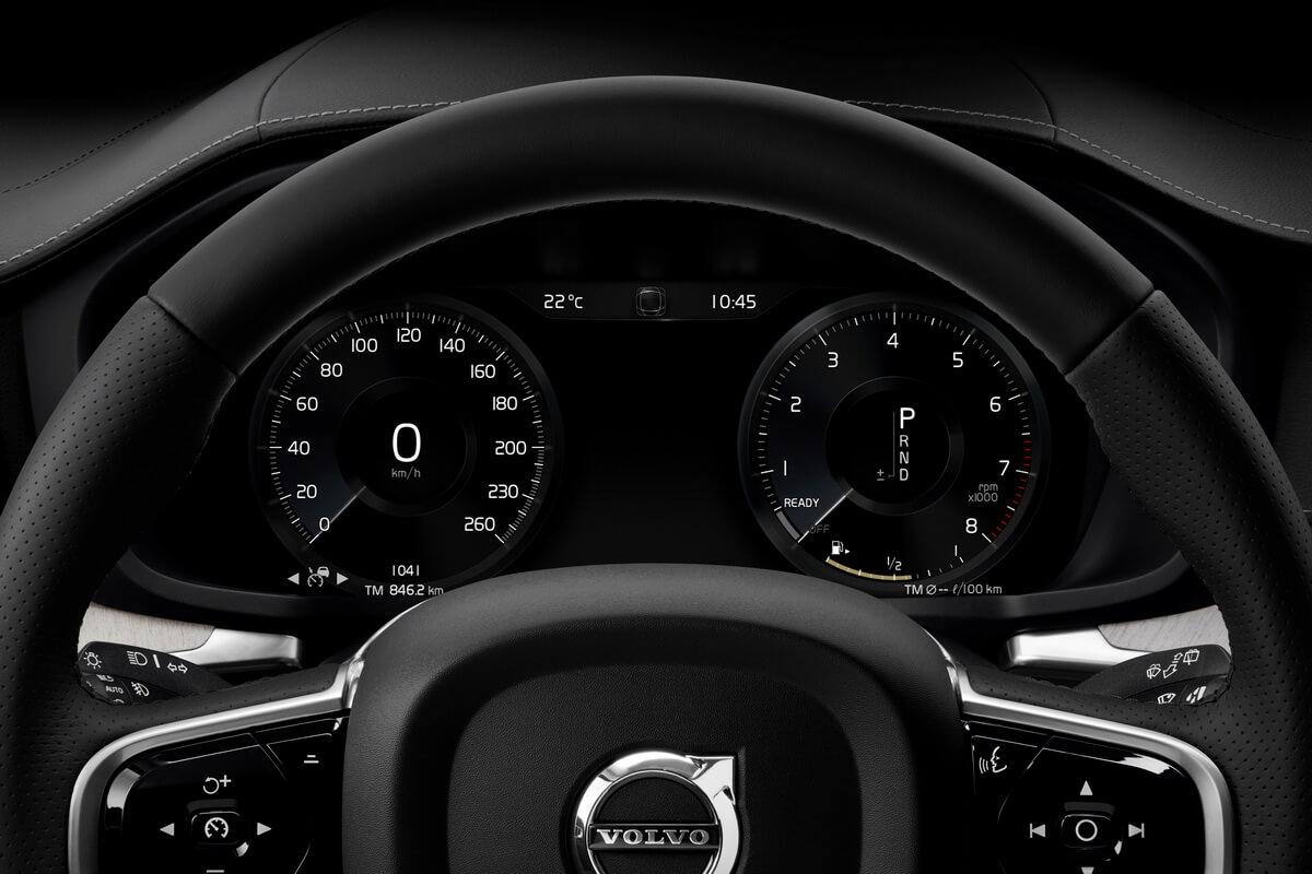 Volvo V60 compteurs