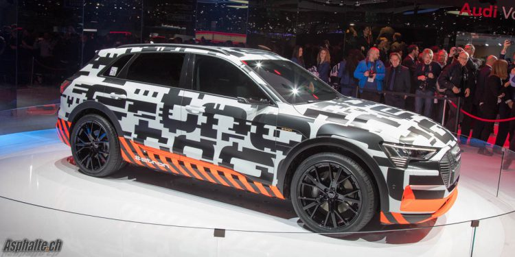 Genève 2018 Audi e-tron prototype