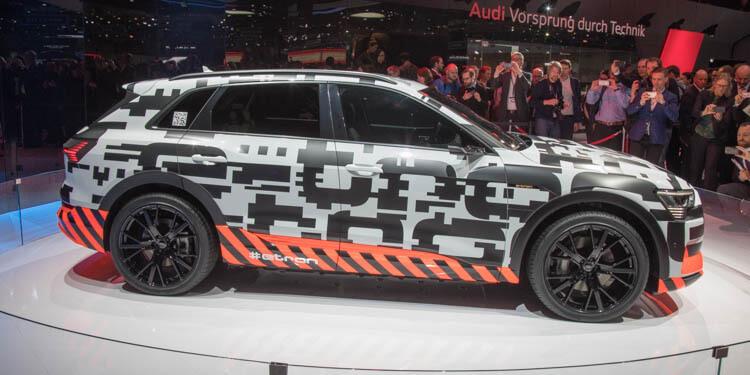 Genève 2018 Audi-e-tron prototype