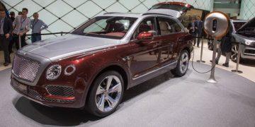 Genève 2018 Bentley Bentayga Plugin Hybrid