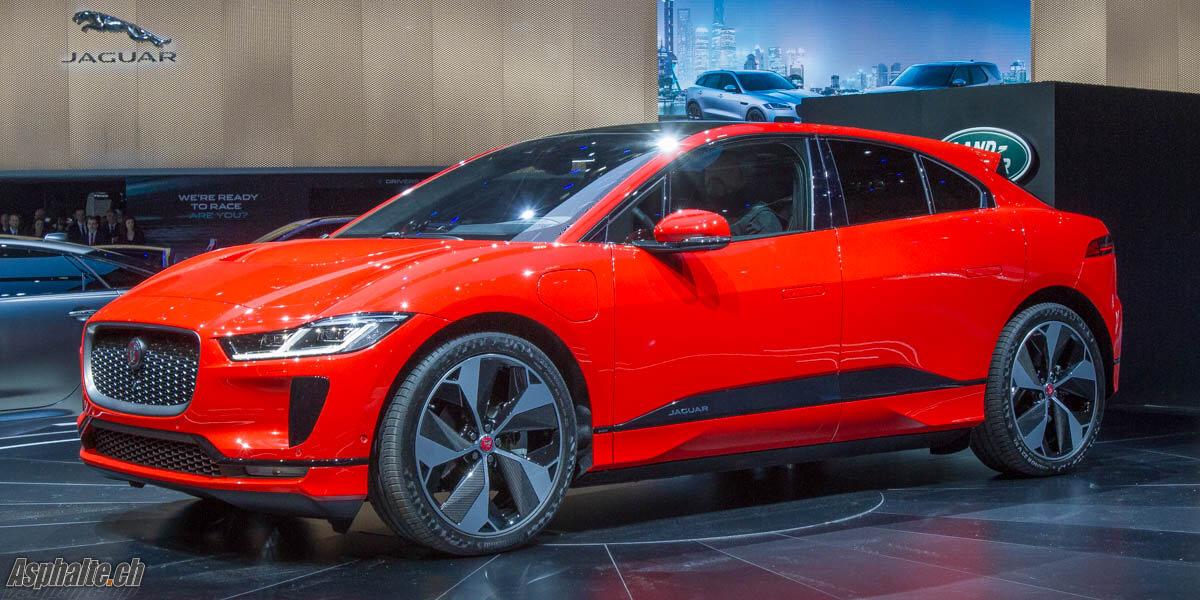 Genève 2018: Jaguar I-Pace - Asphalte.ch