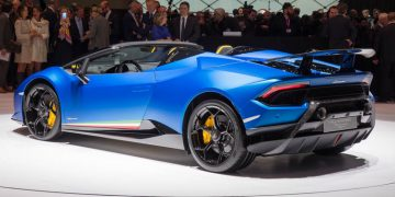 Genève 2018: Lamborghini Huracan Performante Spyder