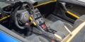 Genève 2018 Lamborghini Huracan Performante Spyder intérieur carbone