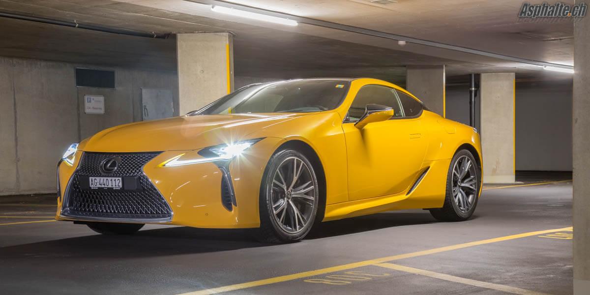Essai Lexus Lc500 Sportive Pour Esthete Asphalte Ch