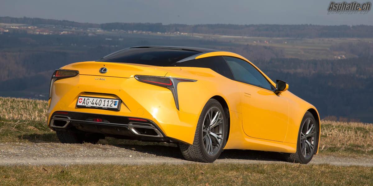 Essai Lexus Lc500 Sportive Pour Esthete Page 6 Sur 6 Asphalte Ch