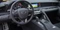 Essai Lexus LC500 intérieur tableau de bord