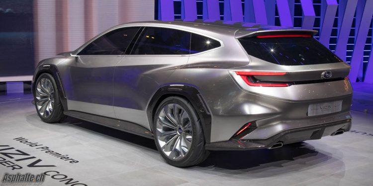 Subaru Viziv Tourer Concept Salon Genève 2018