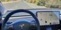 Essai Tesla Model 3 intérieur écran