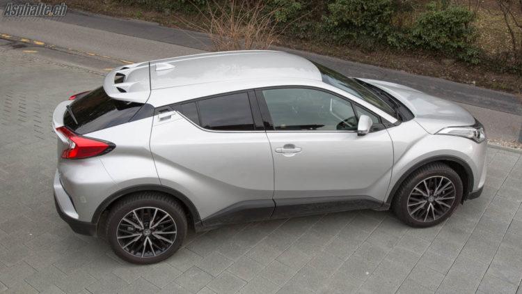 Essai Toyota C-HR AWD