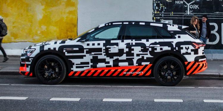 Audi e-tron prototype Berlin