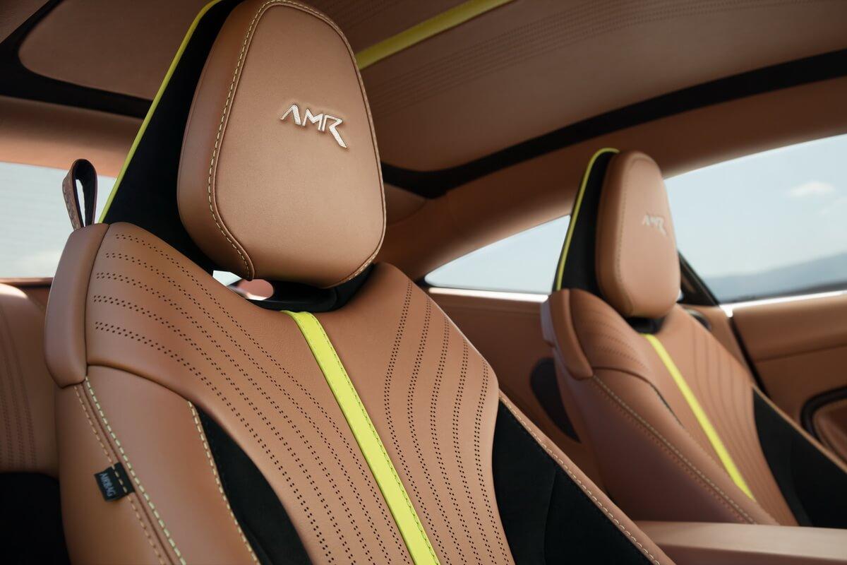 Aston Martin DB11 AMR Mariana Blue Intérieur