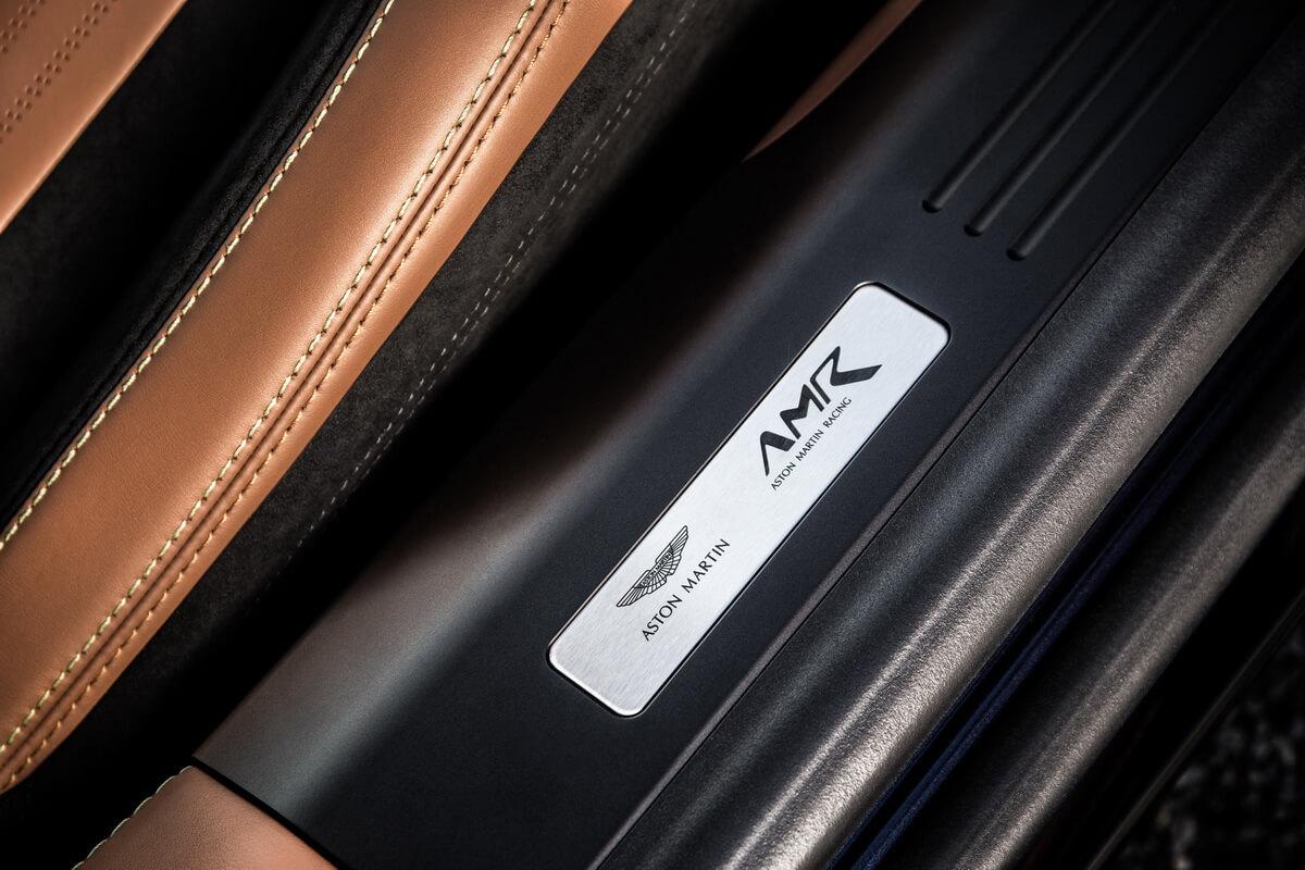 Aston Martin DB11 AMR plaque
