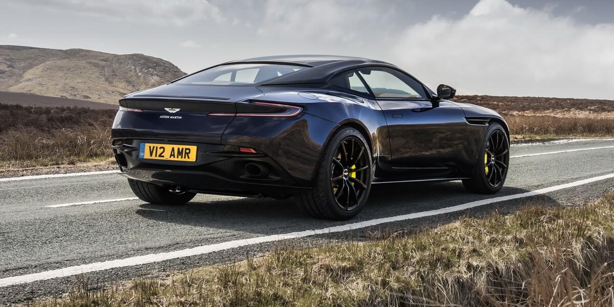 Aston Martin DB11 AMR Mariana Blue