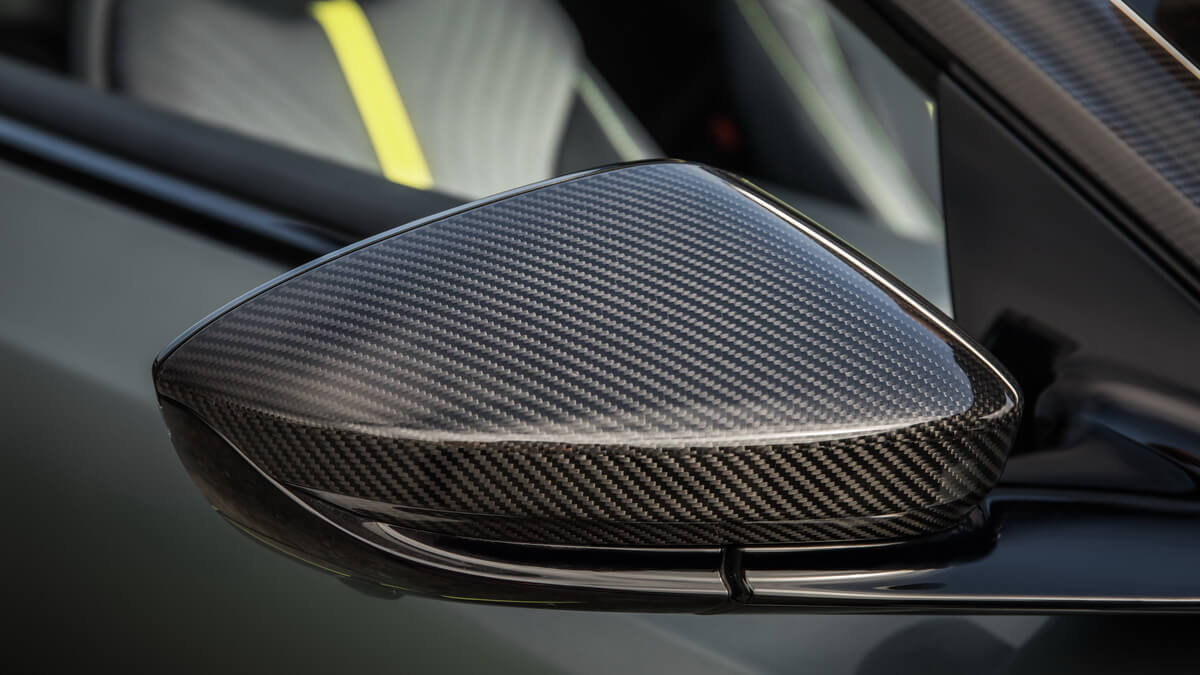 Aston Martin DB11 AMR Signature Edition Rétroviseur carbone