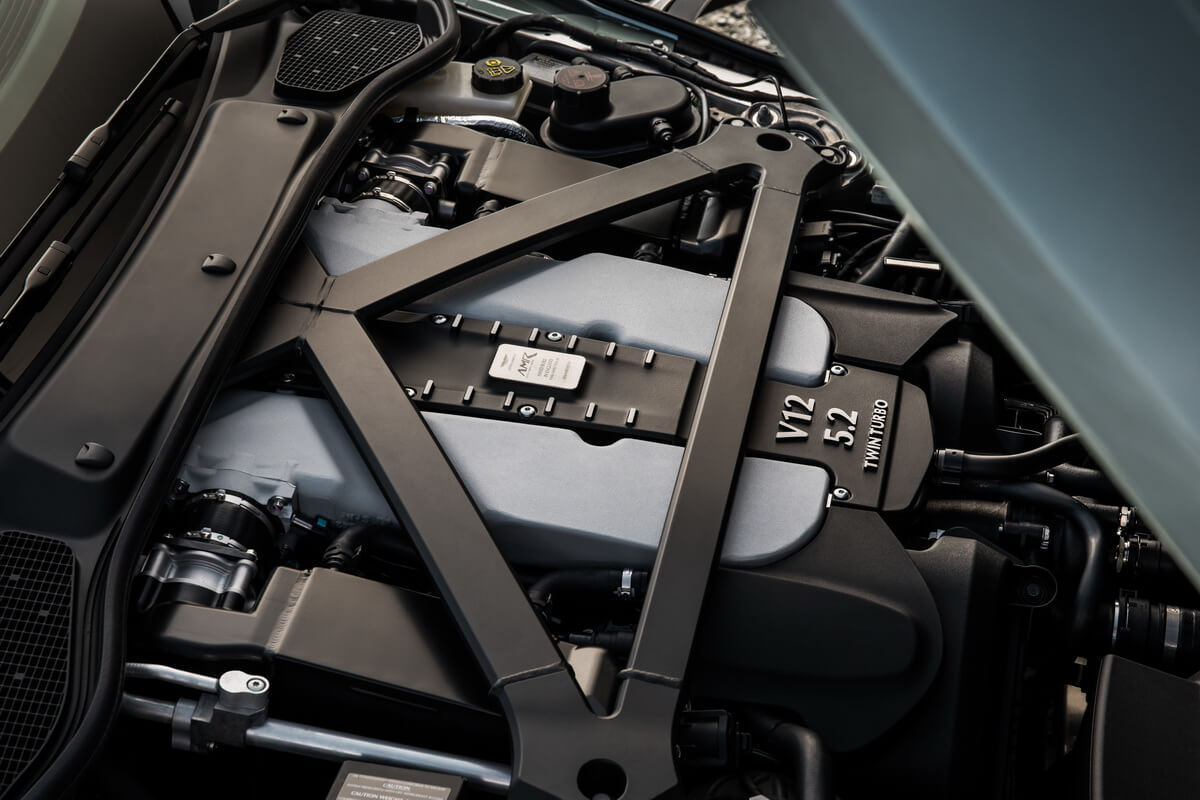 Aston Martin DB11 AMR Signature Edition Moteur
