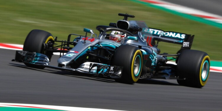 F1 GP d'Espagne 2018