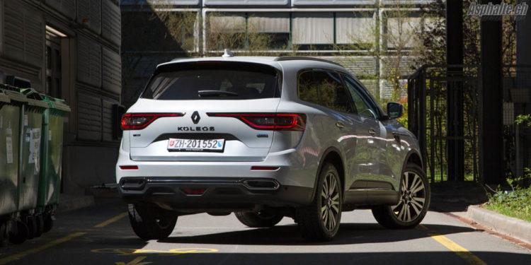 Essai Renault Koleos Initiale Paris