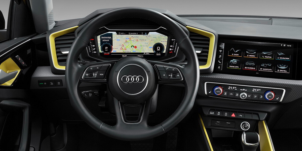audi a1 sportback intrieur mmi virtual cockpit