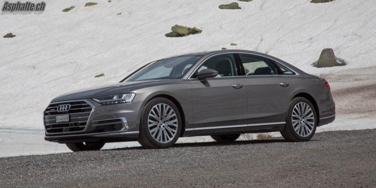 Essai Audi A8 Terra Grau