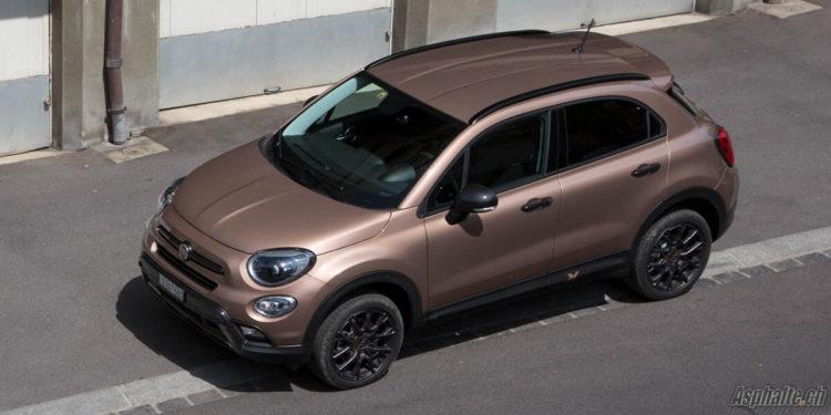 Essai Fiat 500X Bronze Donatello
