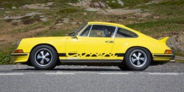Essai Porsche 911 Carrera RS 1973