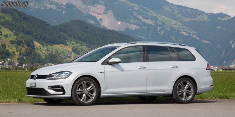 Essai VW Golf 7 Facelift 1.5 TSI EVO Variant White Silver