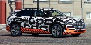 Audi e-tron: l'intérieur