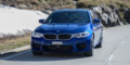 Essai BMW M5 F90 Marina Bay Blue