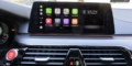 Essai BMW M5 F90 Apple CarPlay