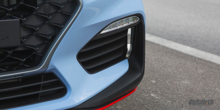 Essai Hyundai i30N Bleu Performance