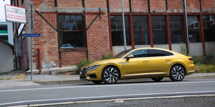 Volkswagen VW Arteon R-Line Jaune Curkuma Yellow