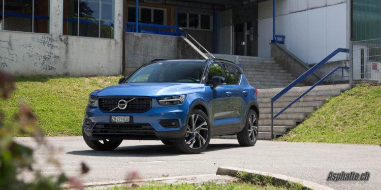 Essai Volvo XC40 T5 R-Design Bursting Blue