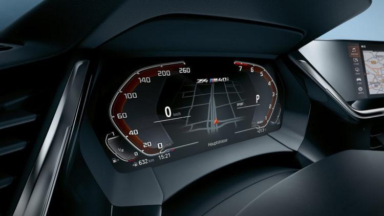 BMW Z4 M40i First Edition Live Cockpit
