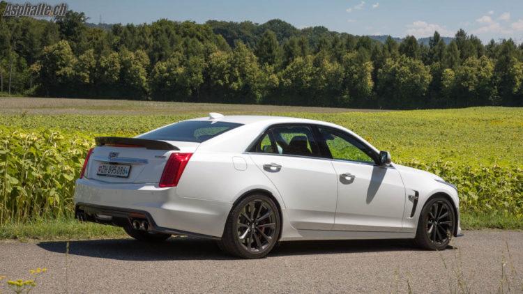 Essai Cadillac CTS-V V8 6.2