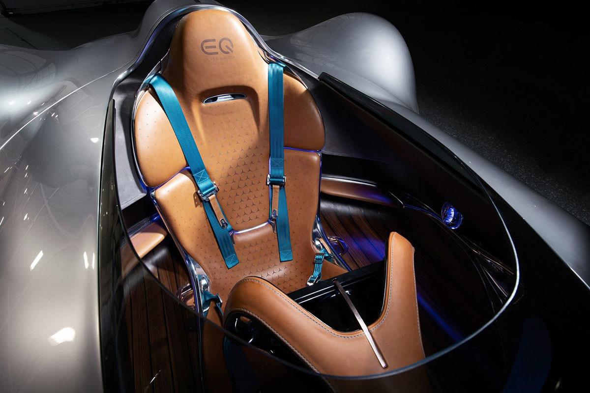 Mercedes EQ Silver Arrow intérieur