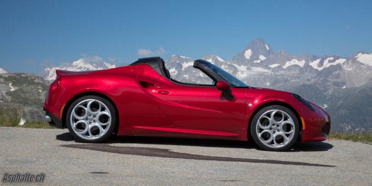 Essai comparatif Alfa Romeo 4C Spider Alpine A110 Première Edition