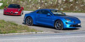 Comparatif Alpine A110 Alfa Romeo 4C