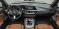 BMW Z4 M40i Argent Silver intérieur tableau de bord