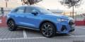 Audi Q3 bleu turbo