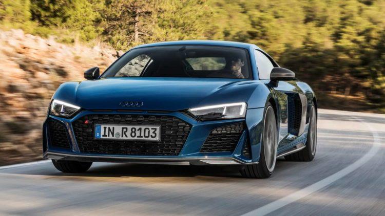 Audi R8 V10 Coupé Facelift 2019 Ascari Blue