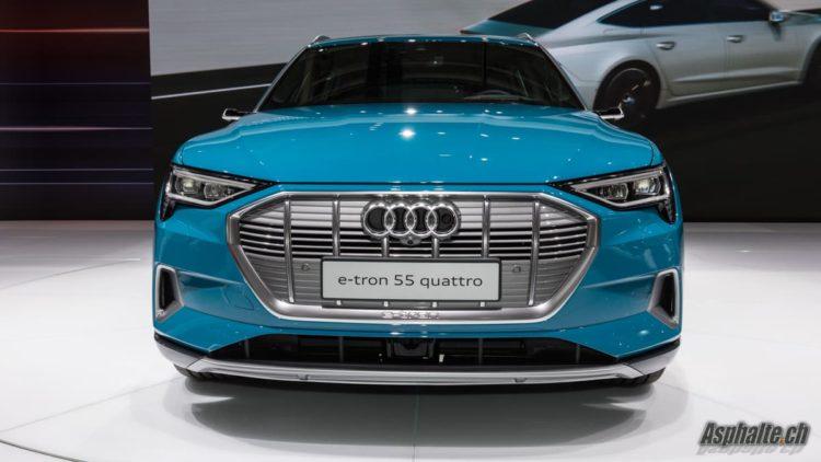 Audi e-tron Mondial Paris 2018
